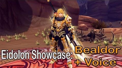 Eidolon Showcase Bealdor Japanese voice Aura Kingdom