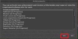 AchievementList