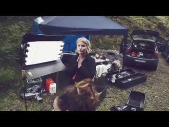 "AURORA - ""Hunting"" Behind The Scenes (""Running With The Wolves"")"