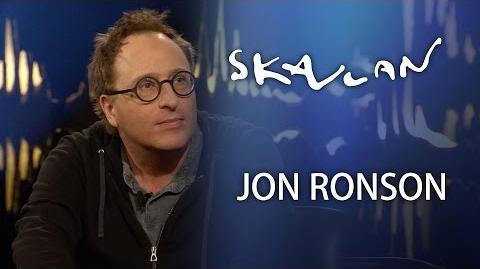 Interview with Jon Ronson - Skavlan -