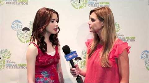 Laura Marano - Disney Kids & Nature Celebration