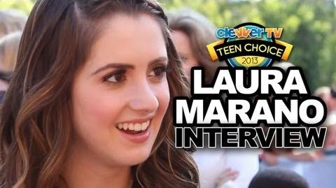 "Laura Marano Talks ""Austin & Ally"" Season 3 & Back to School - Teen Choice 2013"
