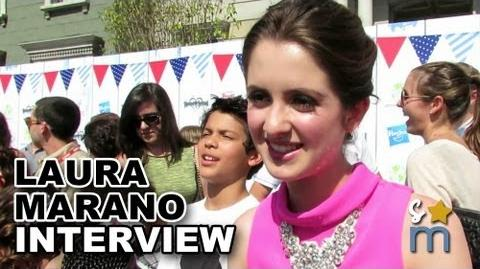 Laura Marano Teases AUSTIN & ALLY Season 2 Finale & Talks Fans - Power of Youth 2013