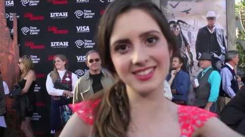 "Laura Marano Interview - ""The Lone Ranger"" Premiere"