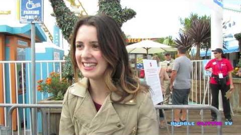 Laura Marano interview at Mattel POP