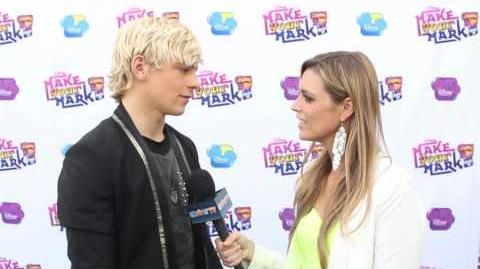 "Ross Lynch Interview - ""Make Your Mark Shake It Up Dance Off"""