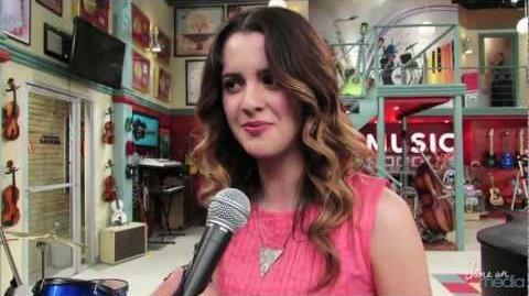 "Laura Marano Talks ""Austin & Ally"" Season 2"
