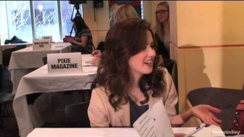 Kidsday interviews Disney actress Laura Marano.