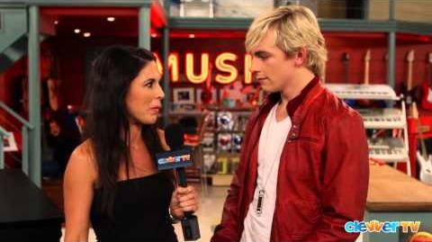 "Ross Lynch Interview - ""Austin & Ally"" Set Visit"