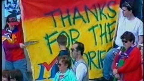 Fremantle v Fitzroy 1996 - Fitzroy's Demise & Auld Lang Syne