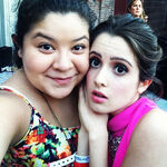 Raini Rodriguez and Laura Marano