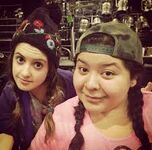 Raini Rodriguez and Laura Marano9