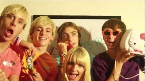 "R5 TV - The Making Of ""Crazy 4 U"""