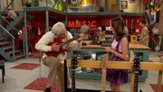 This old man knows how to jam