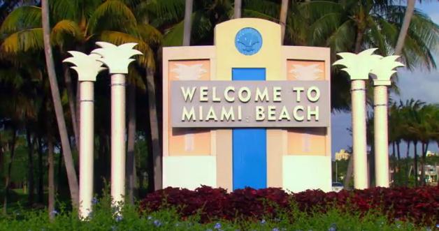 Miami Beach Sign