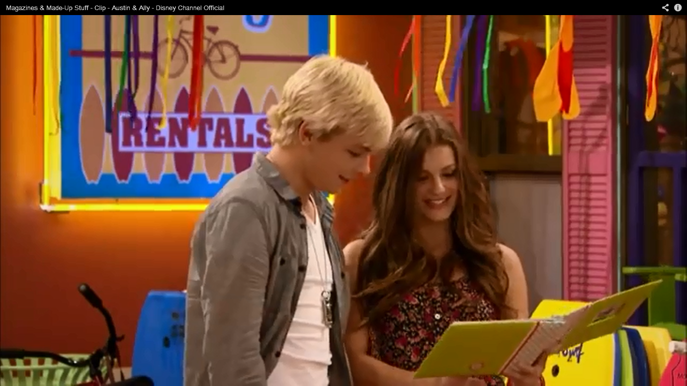 Is Ally Dawson Dating Austin Moon