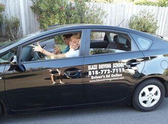 Ross Lynch driving