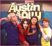 Austin and ally pic cast
