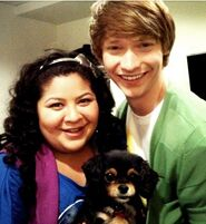 Raini and Calum and Pixie