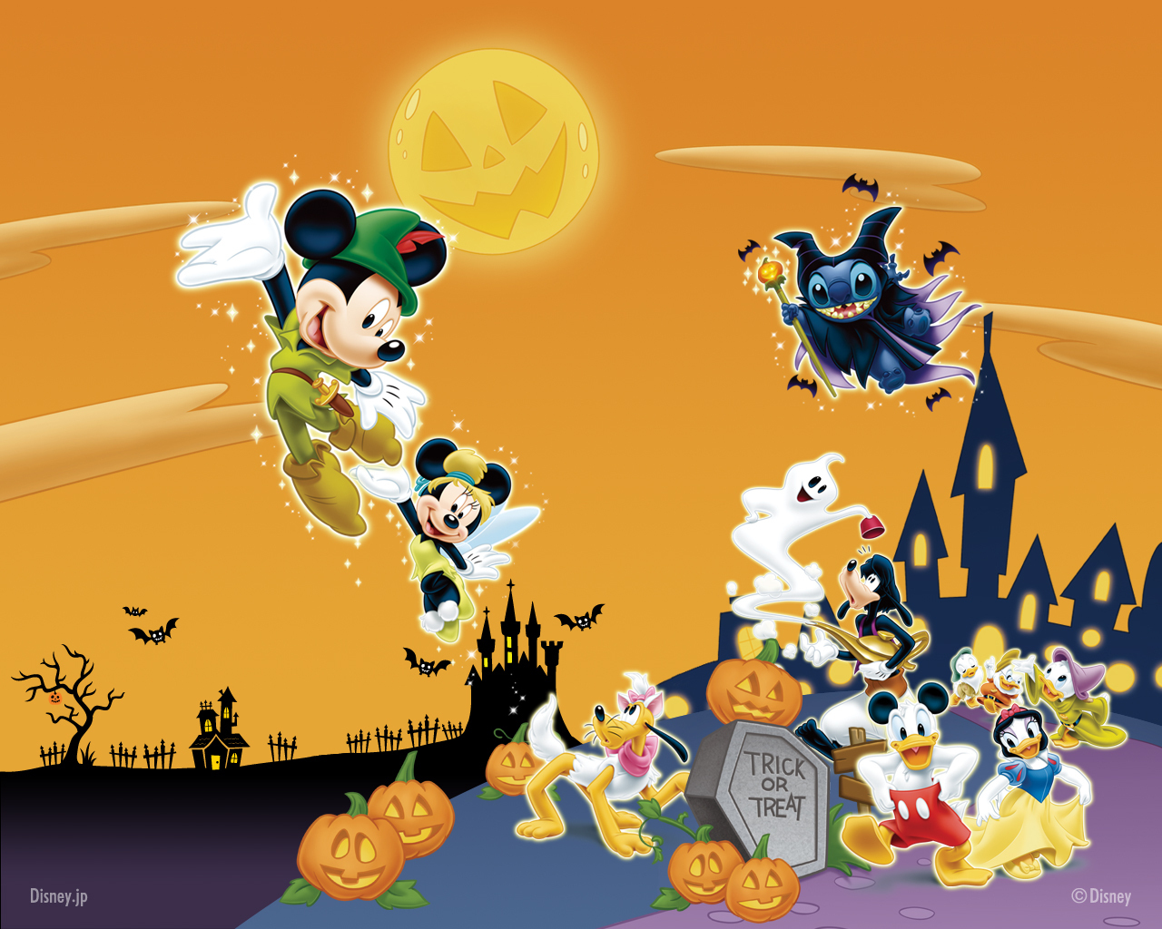 Image - Disney-Halloween-Wallpaper-disney-8528096-1280-1024.jpg ...