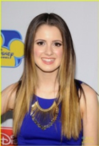 Blonde looking Laura Marano