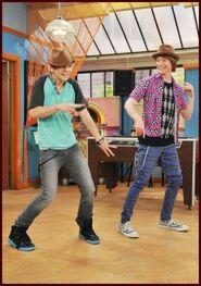Ross and Calum