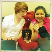 Raini, Calum and Pixie