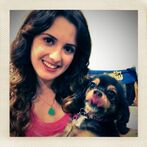 Laura and Pixie on her birthday