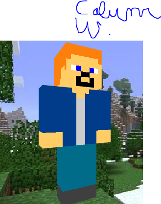 Image Calum Worthy As A Minecraft Person Png Austin Ally Wiki