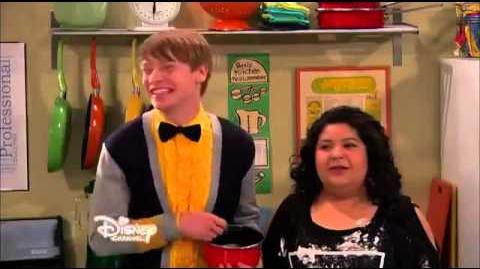 Austin & Ally Kissing Scene Wedding Bells & Wacky Birds