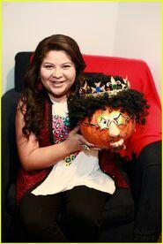 Raini Rodriguez pumpkin