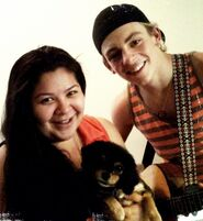 Raini and Ross and Pixie