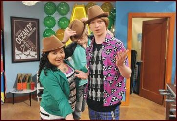 Raini, Ross and Calum
