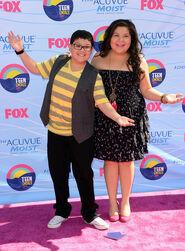 Raini and Rico Teen Choice Awards