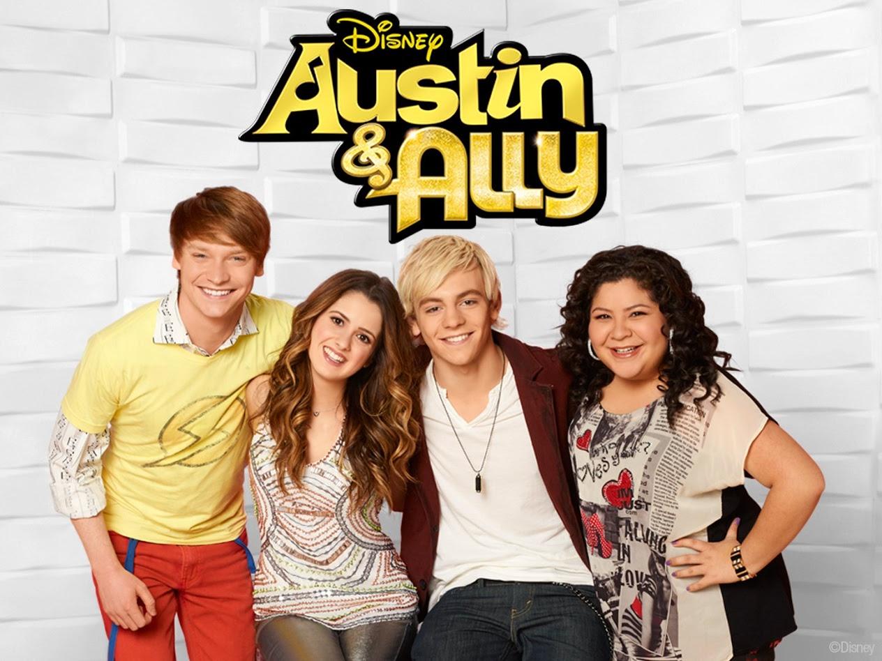 is Austin en Ally dating op de show