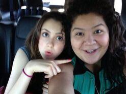 Laura with Raini