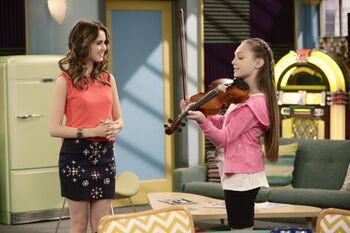 maddie ziegler austin and ally homework and hidden talents