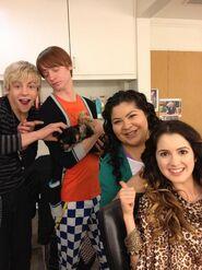 Ross, Calum, Raini, Laura, Pixie