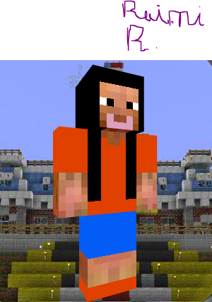 Image Raini Rodriguez As A Minecraft Person Png Austin Ally