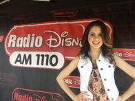 Laura at a meet and greet in burbank