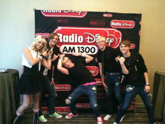 R5 at Radio Disney