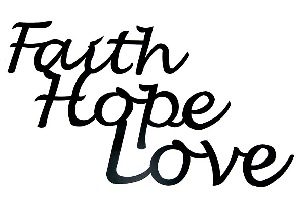 Faith Hope Love Wall Decor Jpg