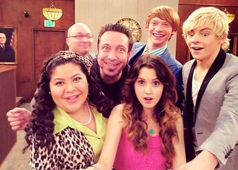 Ross, Calum, Raini, and Laura