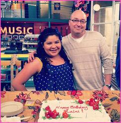 Raini-Rodriguez-Celebrates-Her-Birthday-On-The-Austin-And-Ally-Set