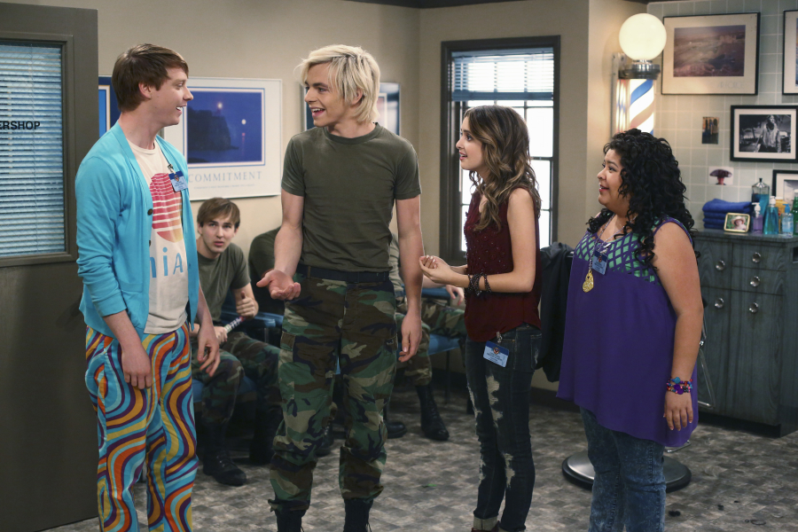 austin and ally homework and hidden talents spoilers