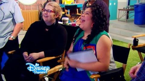 Debby Ryan and Raini Rodriguez Direct! Jessie and Austin and Ally Behind The Scenes-0