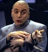 Dr. Evil and Mr. Bigglesworth