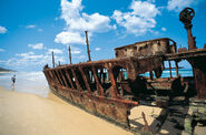 Hervey Bay SS Maheno