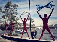 Expo Riverside Promenade Sculptures