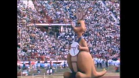 Matilda at the Opening Ceremony of the Brisbane 1982 Commonwealth Games-0